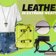 Leather in Extreme Weather: 4 Leather Looks We Love for Summer