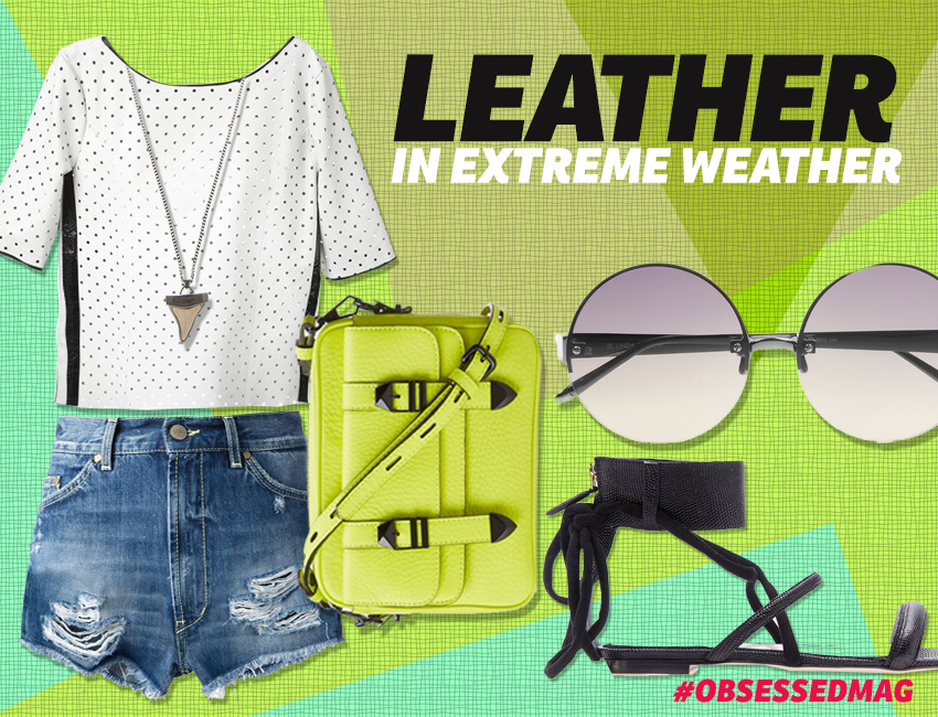 Leather In Extreme Weather Look 4