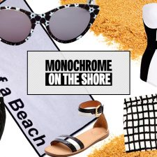 Beach Style: Monochrome on the Shore