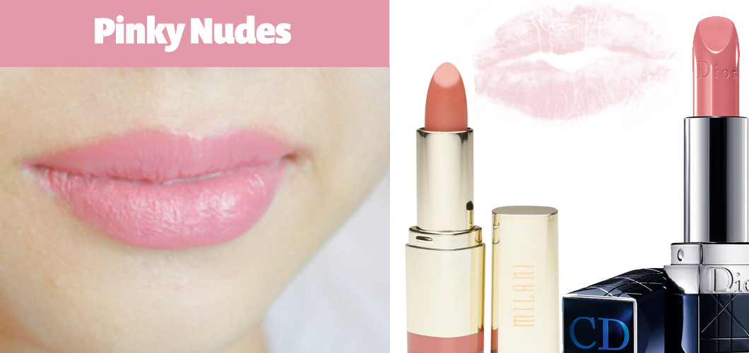 Top 5 Summer Lip Colors Pinky Nudes