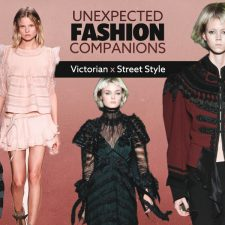 Unexpected Fashion Companions: Victorian x Street Style