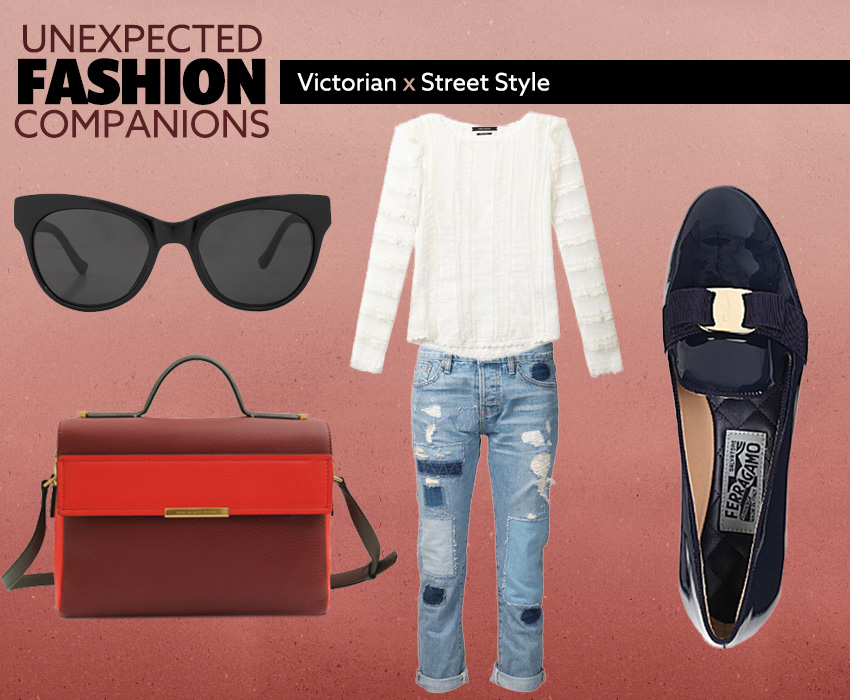 Unexpected Fashion Companions Victorian X Street Style LOOK