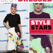 Best Dressed: Kelly Osbourne in Alice + Olivia Graphic Prints