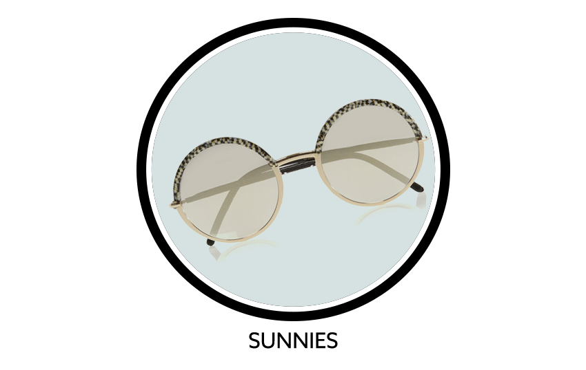 CUTLER AND GROSS Round Frame Acetate And Metal Mirrored Sunglasses