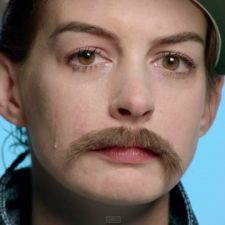 "Kristen Stewart and Anne Hathaway Dress in Drag for Jenny Lewis' ""Just One of the Guys"""