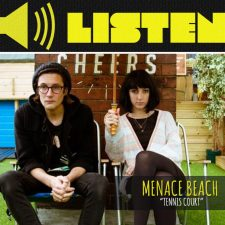 "LISTEN: ""Tennis Court"" by Menace Beach"