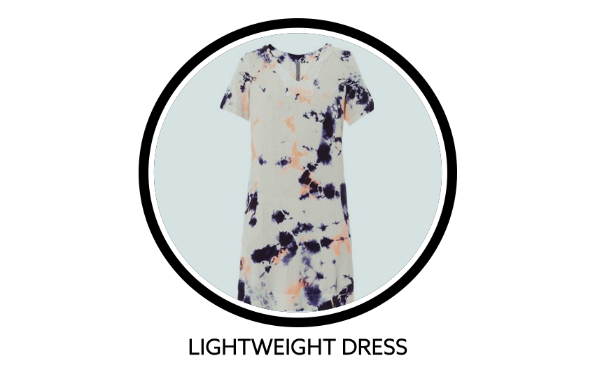 RAQUEL ALLEGRA Cosmic Tie Dye Silk Dress