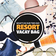 What's in Our Two-Day Summer Resort Vacation Bag