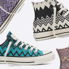 Zigzagged Collabs: Missoni x Converse