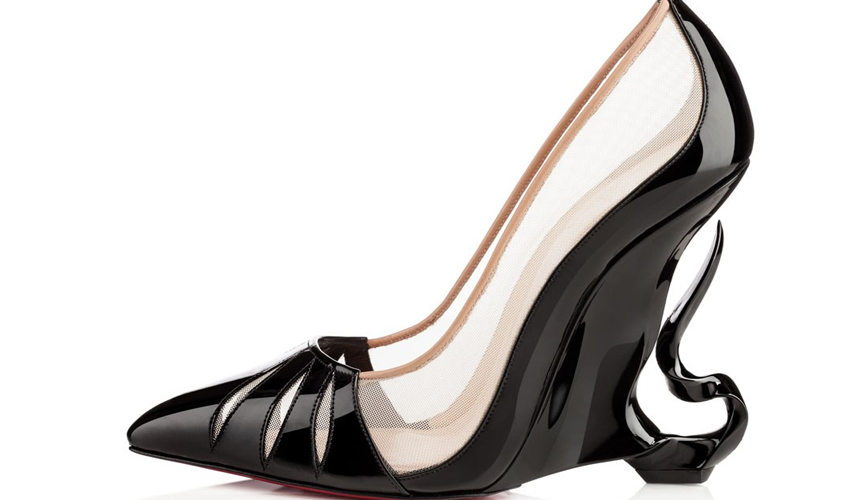 Christian Louboutin And Angelina Jolie Maleficently Magnificent Shoe Collab2