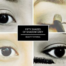 Fifty Shades of Shadow Grey Beauty Tutorial