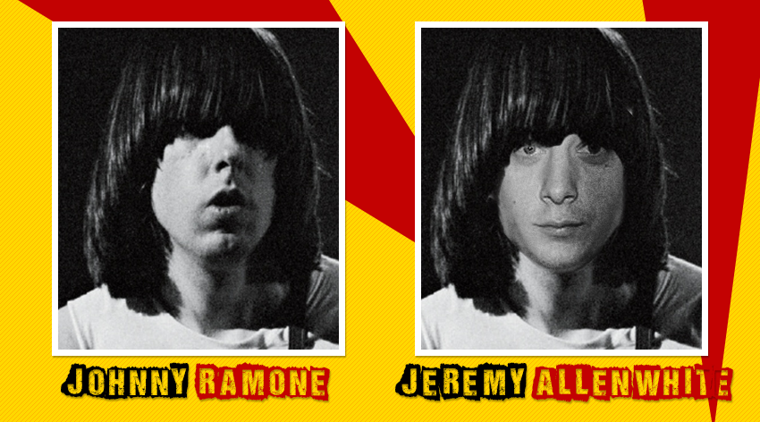 Johnny Ramone Jeremy Allen White