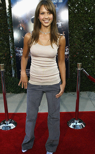 Style Evolutuion Jessica Alba Before