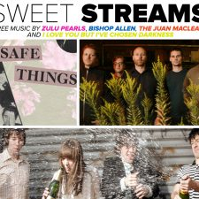 Sweet Streams: New Music by Zulu Pearls, Bishop Allen, The Juan Maclean and I Love You But I've Chosen Darkness