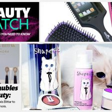 Beauty Watch: The Selfie Brush, Alexis Bittar for Sephora, Great Beauty Hacks and Karl Lagerfeld's Cat