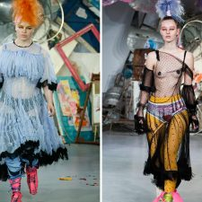 5 Most Over-the-Top Looks To Walk The Runway At London Fashion Week
