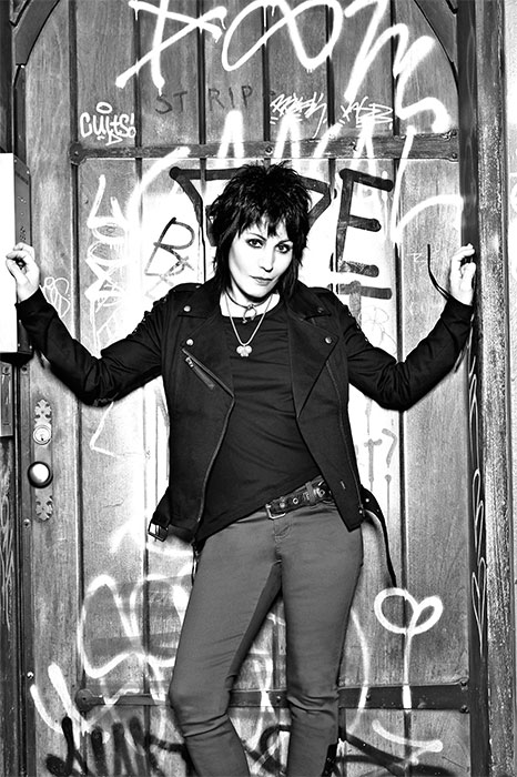 Joan Jett in the Joan Jett X TRIPP NYC Fashion Collection for Hot Topic (Photo: Business Wire)