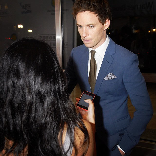 Obsessed features editor w/ Burberry model and actor Eddie Redmayne. Interview coming soon!
