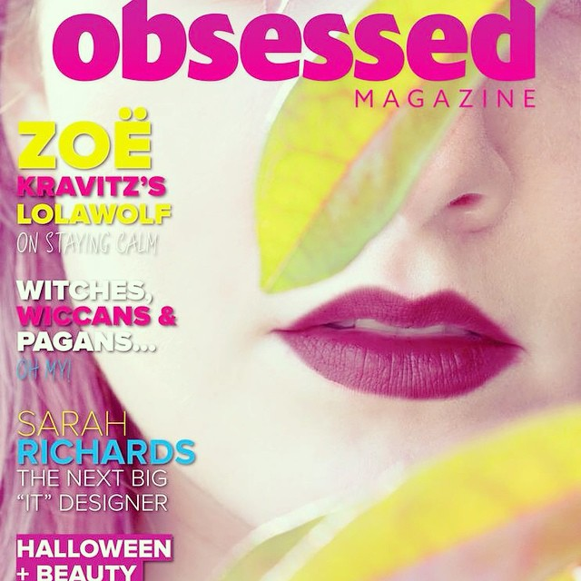 Obsessed with our Supernatural issue #fashion #magazine #beauty #instalove