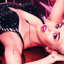Miley Smiles for MAC's Viva Glam