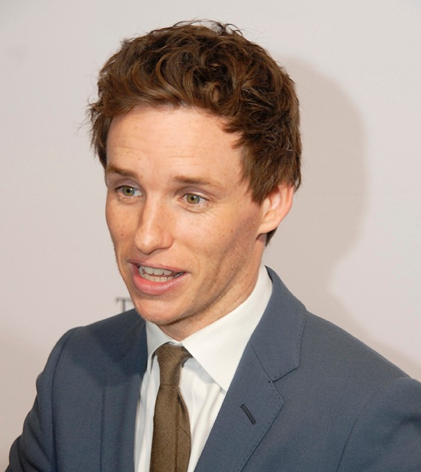 Actor Eddie Redmayne. Photo: Reggie Campbell