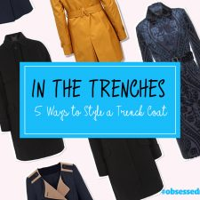 In the Trenches: 5 Ways Style a Trench Coat