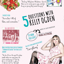5 Questions for Kelly Ogden of The Dollyrots – The Holidazed Issue