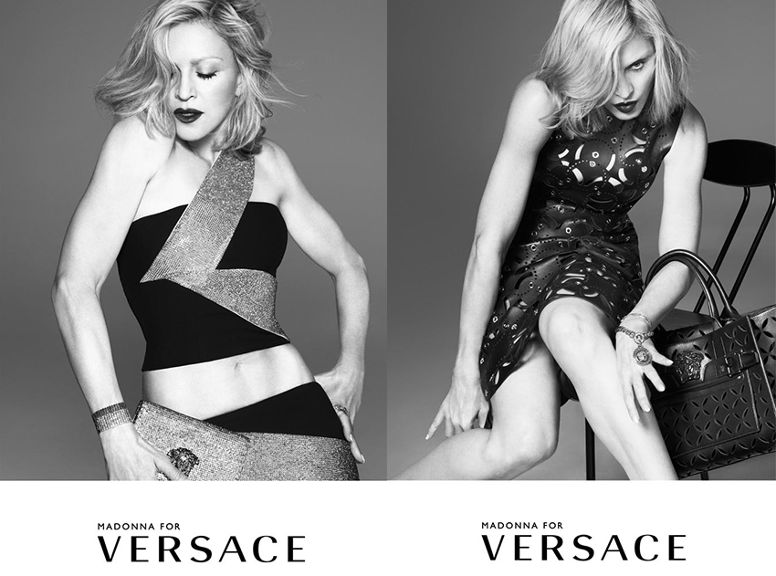 Madonna Is The New Face For Versace's Spring 2015 Campaign