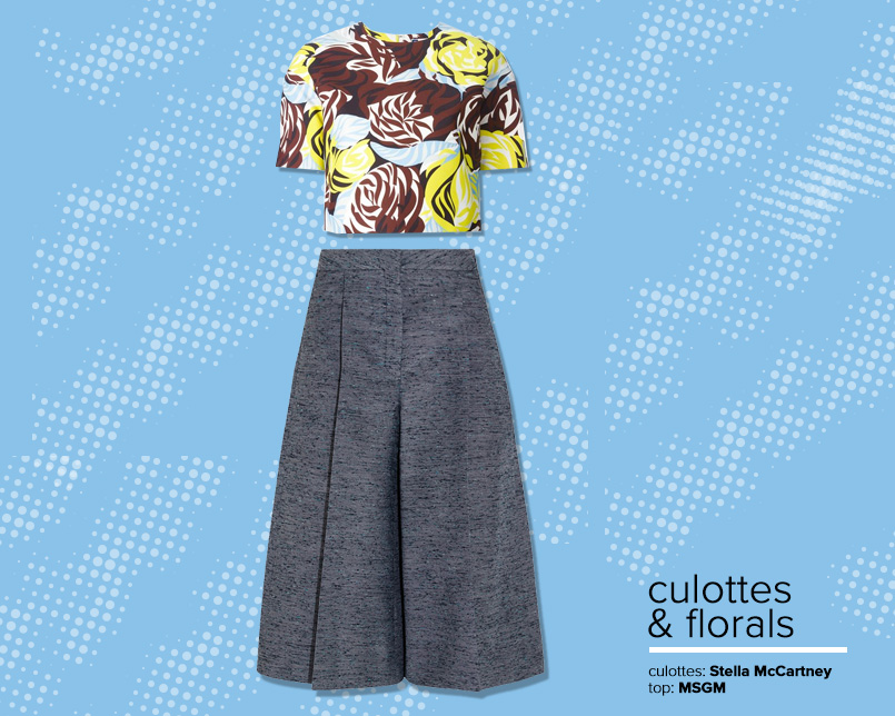 Revamp Culottes And Florals