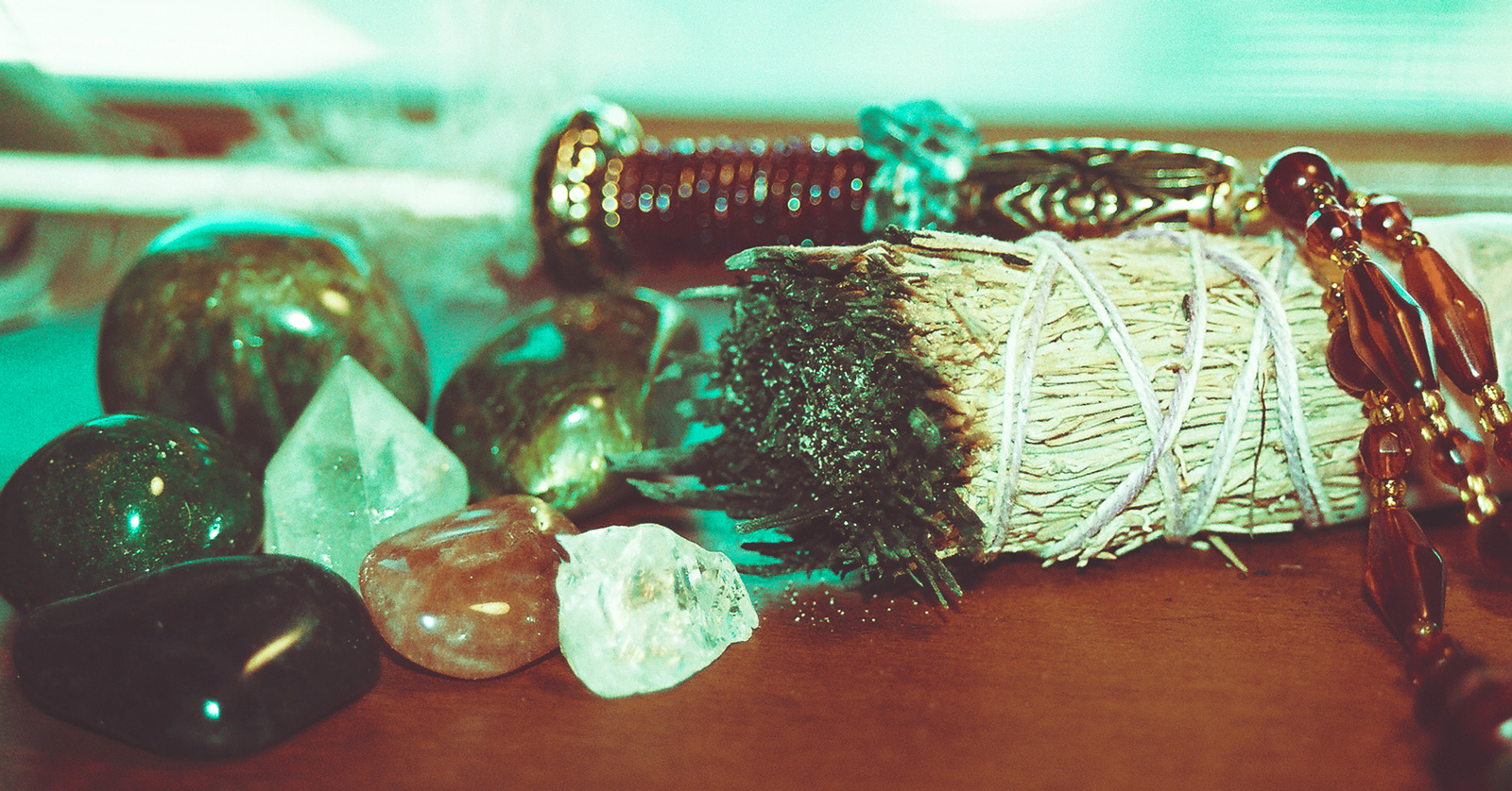 Sage And Crystals
